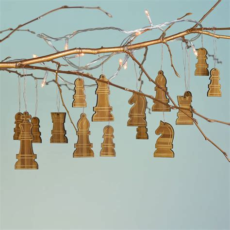 Chess Decor by Bamboo Chess Decorations By Oakdene