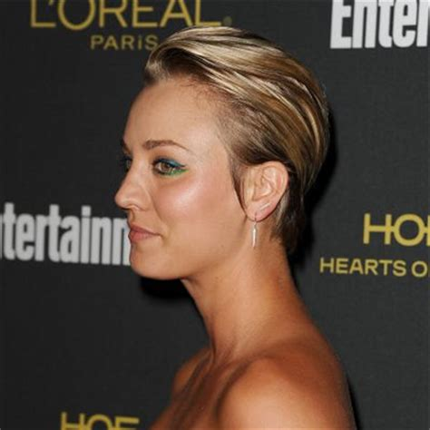 why did kilee coco cut her off big bang theory star kaley cuoco feels that her pixie