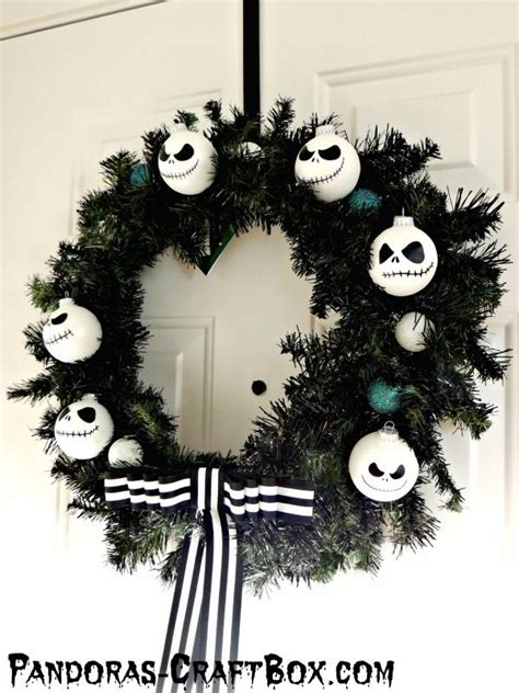 how to make nightmare before ornaments best 25 nightmare before wreath ideas on