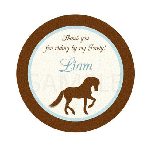 printable horse stickers cowboy cupcake topper boy cowboy printable cowboy