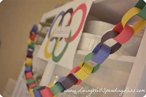 Olympic Decorations by The Sweetest Memory 12 Olympic Ideas Kid Friendly