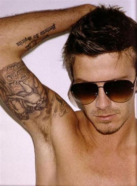 david beckhams stylish tattoos designs david bekham s design and meaning cool david