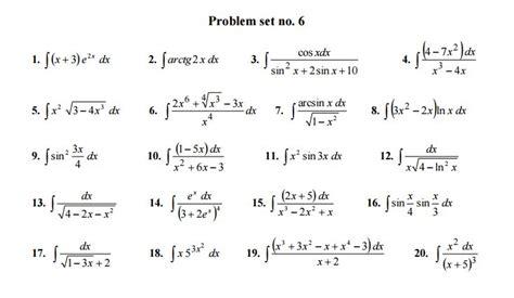 Dx 20 Setelan 442 Set Solved Indefinite Integral Definite Integral Differential