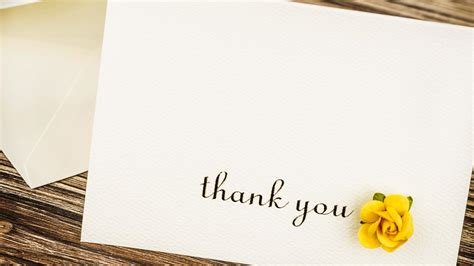 Thank You Card Wedding Gift - are wedding gift thank you cards a thing of the past wedding gift thank yous