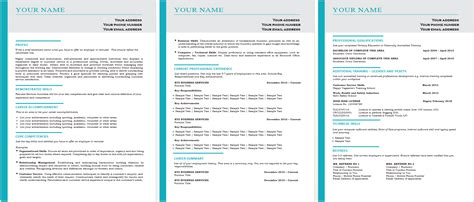 Resume Template Word Australia The 1 Best Selling Cheapest Resume Templates In The World