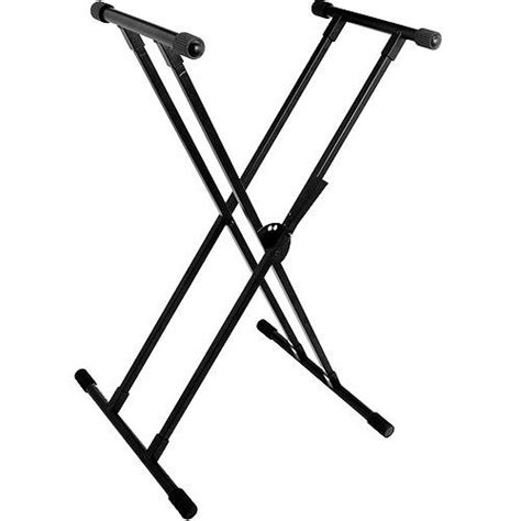 world tour single x keyboard stand deluxe bench package world tour double x braced keyboard stand walmart com