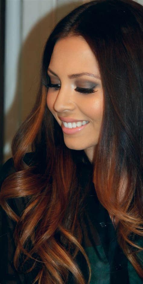 californianas en cabello negro la moda en tu cabello mechas californianas en el cabello