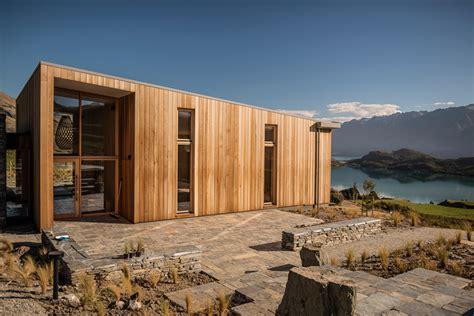 designboom landscape architecture aro ha wellness retreat overlooks new zealand landscape