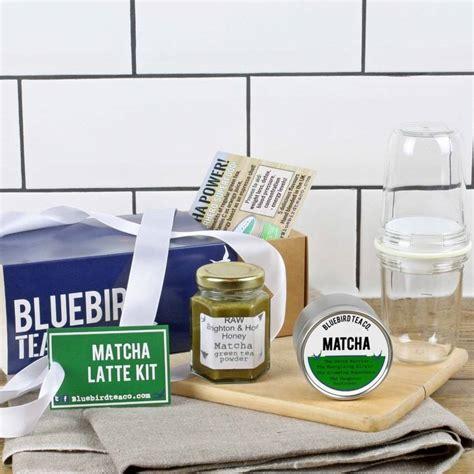 Kit Green Tea Original matcha latte kit by bluebird tea co notonthehighstreet