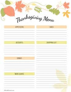 thanksgiving menu planner template free thanksgiving planner printable an alli event