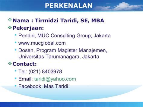 Program Mba Di Jakarta by Perkembangan Gcg Di Indonesia