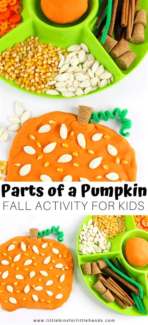 pumpkin playdough recipe activities  bins   hands