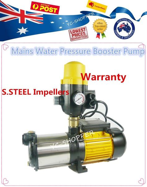 house water pressure domestic household house mains water pressure booster water pump ebay