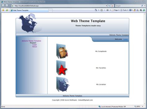 Themes Creator Website | applications template new calendar template site