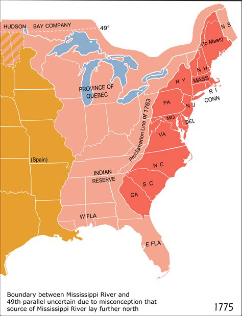 13 colonies sections royal proclamation of 1763 wikipedia