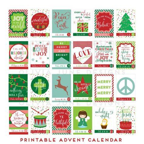 printable advent calendar with scripture printable diy advent calendar with scripture by