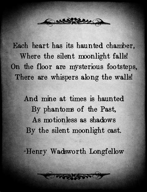 house of chambers lyrics the haunted chamber by henry wadsworth longfellow poetry