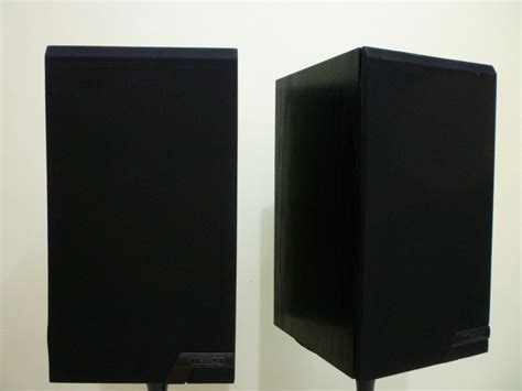 mission 761 sealed box bookshelf speaker sold