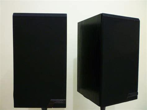 mission 761 sealed box bookshelf speaker sold