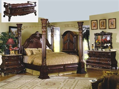traditional canopy bed marble bedroom set shop factory