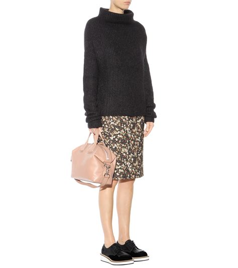 Givenchy Nightiangle Mini Semprem givenchy nightingale small leather tote in pink lyst