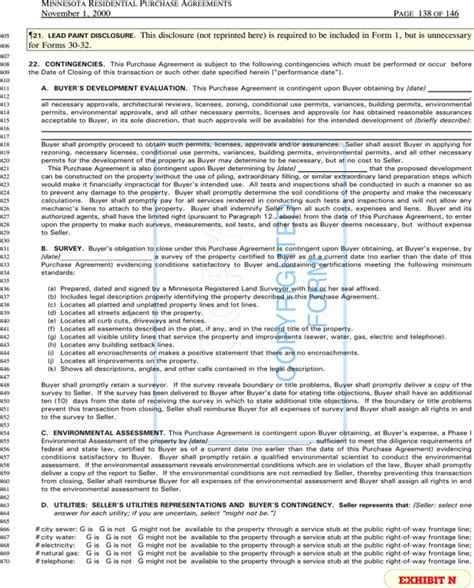 Download Minnesota Residential Purchase Agreements Sle For Free Page 139 Formtemplate Mn Purchase Agreement Template