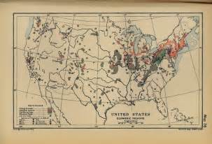 economic map of united states map of the united states economy 1900