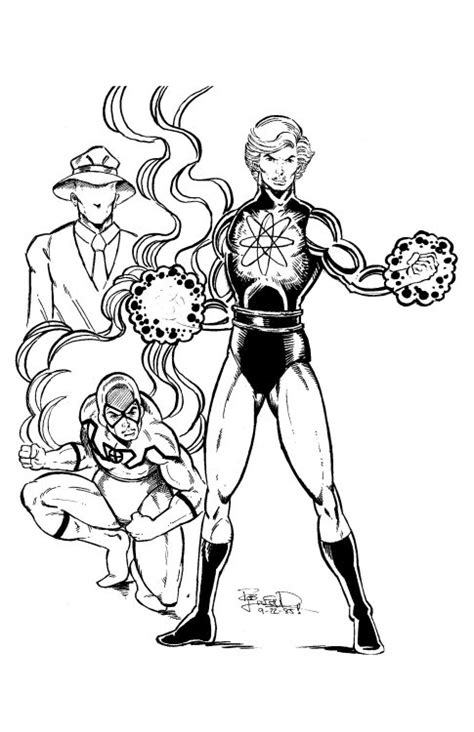 booster gold coloring pages