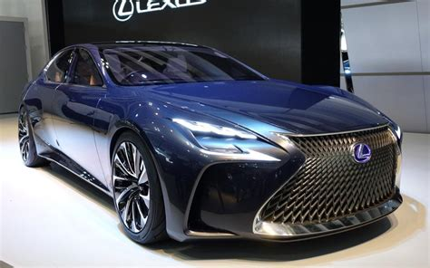 lexus concept sports car lexus lf fc concept previews 2016 ls luxury saloon