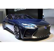 Lexus LF FC Concept Previews 2016 LS Luxury Saloon