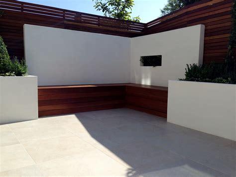 patio moderne small modern garden design garden