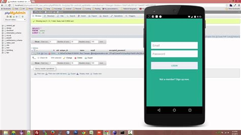 Android With Php by Android Login And Registration With Php Mysql And Sqlite