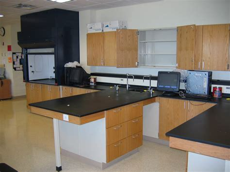 steel laboratory casework design and install