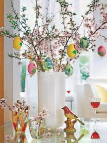 clean modern elegant easter decorations egg tree centerpiece bunny tree etc easter