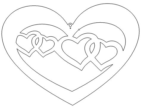 herzen im herz heart  heart das  portal fuer dxf dwg dateien
