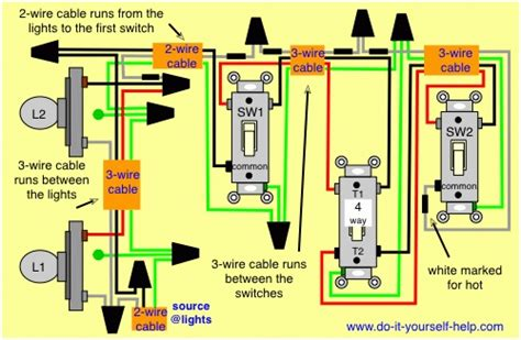 porch light with photocell wiring diagram smoke detector