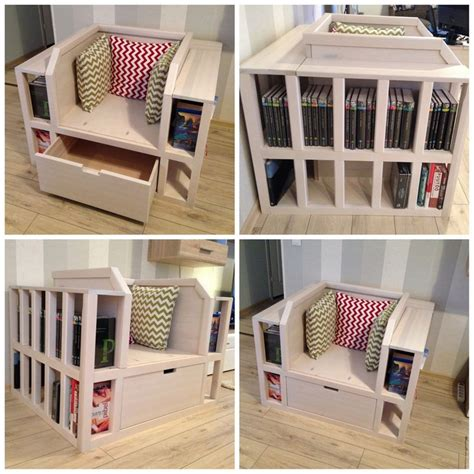 Bookshelf Chair by How To Build A Biblio Chair Page 1