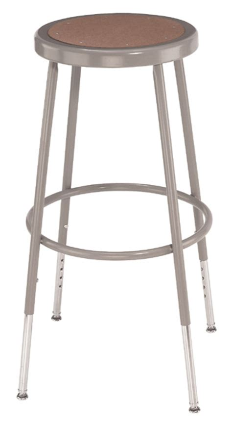 adjustable height heavy duty lab and shop stools 19 quot 27