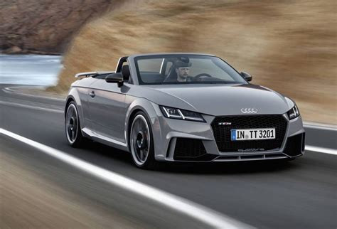 Tt Audi Roadster by 2017 Audi Tt Rs Revealed Most Powerful With New 2 5t