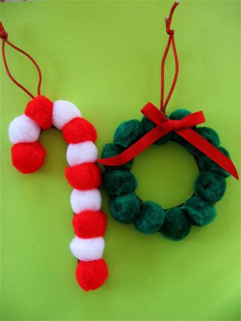 pom pom ornaments skip to my lou