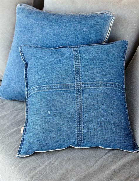 weg mit den alten dekoration aus jeansstoffen ist