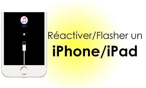 guide complet pour activer  iphone ou ipad desactive avec itunes