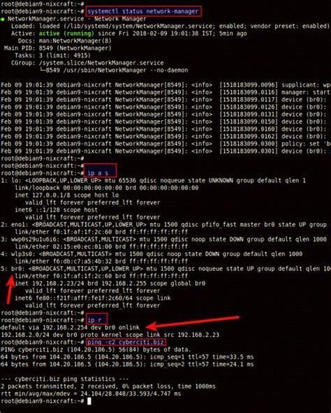 tutorial linux bridge how to setup and configure network bridge on debian linux
