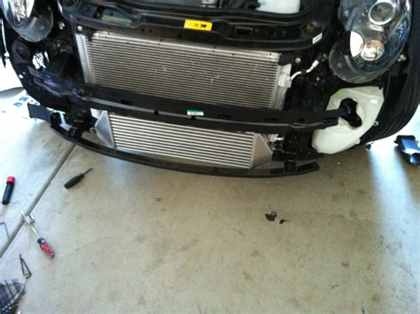 r56 jcw cooler intercooler for r58 jcw some issues american