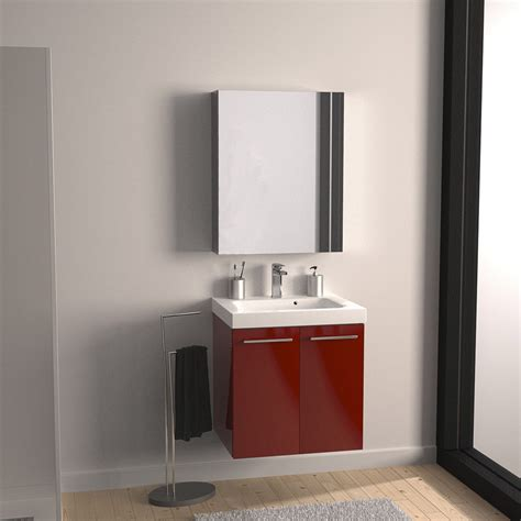 bain de si鑒e froid meuble sous vasque l 61 x h 57 7 x p 46 cm sensea