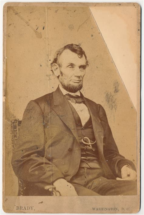 abraham lincoln cabinet file abraham lincoln o 92 cabinet card by brady 1864 jpg