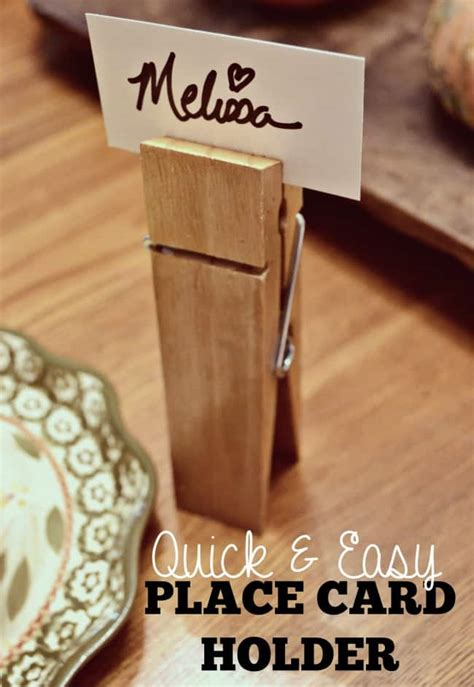 10 ideas for christmas place card holders the bright quick easy place card holders