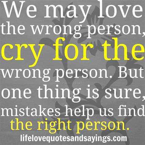 Falling In For The Wrong Reasons Quotes by Quotes About Falling For The Wrong Person Quotesgram