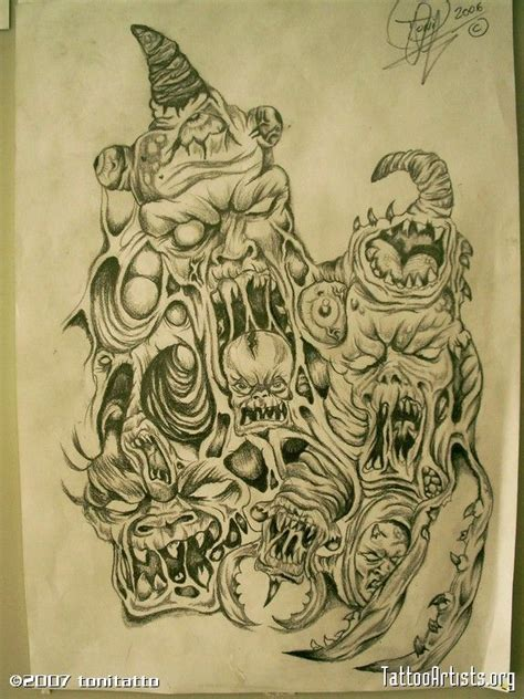tattoo flash evil 32 best evil tattoo flash gallery images on pinterest