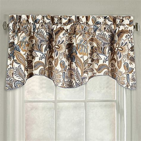 j queen valdosta shower curtain j queen new york valdosta scallop window valance bed